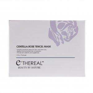 Ethereal Centella Rose Tencel Mask 1box 5pcs 1